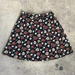 Vintage Knapp Studio Floral Skirt